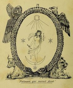 Aleister Crowley Art Print /'esperanza/' Foto Poster Regalo