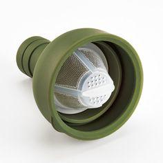 フィルターインボトル オリーブグリーン - 耐熱ガラスのHARIO