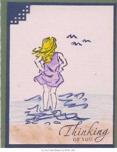 Seaside Sketches: girl