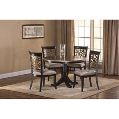 Rosalind Wheeler Albright 5 Piece Dining Table Set