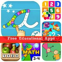 Free Educational Apps for Kids for iPhone and Android!