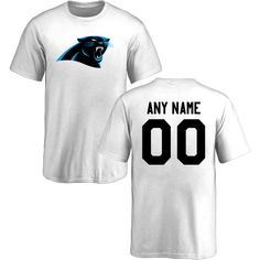 ae790b620 Youth Carolina Panthers Design-Your-Own Short Sleeve Custom NFL T-Shirtcheap  nfl