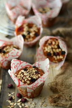 Muffins {Christmas Cake Leftovers}