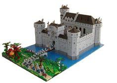 Lego Typical Dutch moat castle