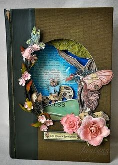 altered book by Jamie Dougherty