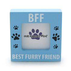 BFF Best Furry Friend Photo Frame