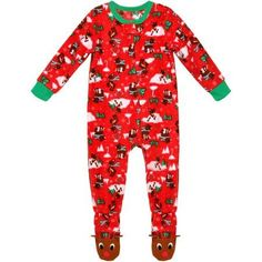 Outerstuff Chicago Bulls Baby Blanket Footed Sleeper Pajamas - Red (0 3  Months) 320404034f7c