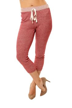 Light Weight Jogger - Red