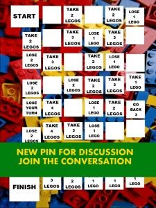 New Pin for Discussion 'Build a Lego Tower' Game Board for OT/PT Objectives - What kind of great game can you make with this to advance motor, sensory and other OT/PT objectives? Lets have another contest between OTs/PTs and SLPs! Lego Activities, Lego Games, Therapy Activities, Math Games, Therapy Ideas, Diy Games, Lego Board Game, Lego Boards, Board Games