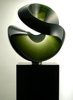 Vlastimil Beranek mobile: Glass sculptures