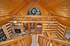 log cabin hot tub ideas | The Treehouse Gatlinburg Cabin. #PET-FRIENDLY, ... | Vacation Ideas