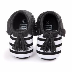 Cool Baby Cute Shoes Toddler Infant Unisex Girls Boys Soft PU Leather Tassel Moccasins Shoes - $ - Buy it Now!