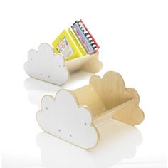 cloud book shelf.