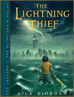 The Lightning Thief by Rick Riordan (Percy Jackson & the Olympians, #1) -- Review by Kirsten Erin