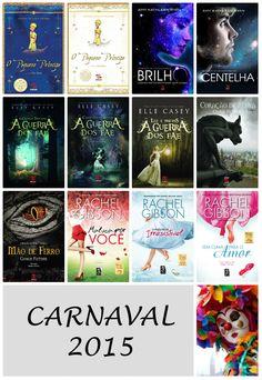 Saleta de Leitura Sugestões da Geração Editorial para este Carnaval.
