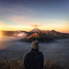 topo-designs:  Mount Bromo, Indonesia with Reuben Wu and our Ragg Cap
