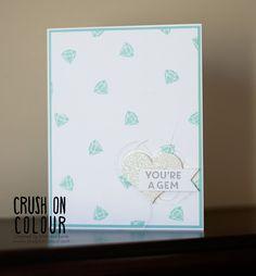 Crush On Colour: You're A Gem!  Paper Pumpkin Bonus Project