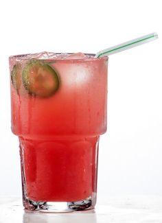 Tequila and watermelon. | Photo: Tony Cenicola/The New York Times