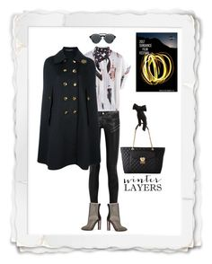 """""""Going to Sundance in Style"""" by kristyanelle ❤ liked on Polyvore featuring KRISVANASSCHE, Yves Saint Laurent, adidas, Love Moschino, Gucci, Dolce&Gabbana, Black, sundance, SundanceFilmFestival and WinterLayers"""