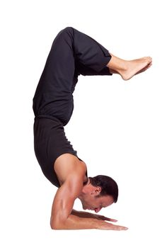 5 Toughest Yoga Positions for Guys - Men's Fitness. Get other health and fitness tips at http://pinterest.com/actvlifeessntls/.