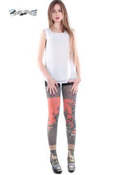 Produzione: www.officinacreativa.us        Brand: www.marieantoilette.com   #collants #fashion #girls #marieantoilette #art #chaussures #russiangirl #longlegs