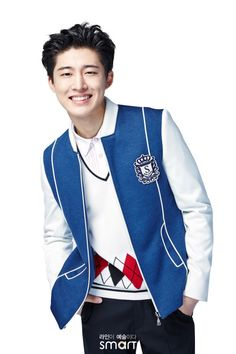 iKON Hanbin for SMART SCHOOL UNIFORMS