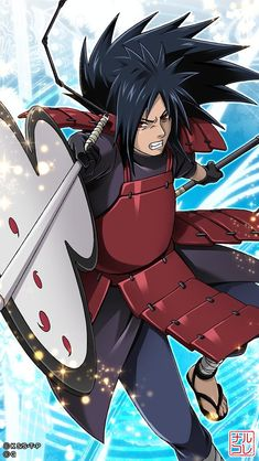 Madara Uchiha is one of the most legendary and famous Uchiha clan leaders. Living since the war era, he still caused problems until the Naruto era. Naruto Shippuden Sasuke, Naruto Kakashi, Anime Naruto, Sasuke Sarutobi, Wallpaper Naruto Shippuden, Naruto Wallpaper, Naruto Art, Anime Manga, Boruto