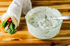 Cucumber Dill Yogurt Dip (Maast o Khiaar) Gourmet Recipes, Cooking Recipes, Beef Kabobs, Tasty, Yummy Food, Middle Eastern Recipes, Healthy Snacks, Healthy Recipes, Food Print