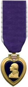 Purple heart.  Very proud of all those military men and women who have received one. Like my grandpa, God rest his soul.