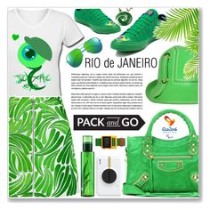 """RIO"" by nanawidia ❤ liked on Polyvore featuring Converse, Balenciaga, Opening Ceremony, Markus Lupfer, Yves Saint Laurent, Void, Polaroid, polyvoreeditorial, polyvorecontest and rio"
