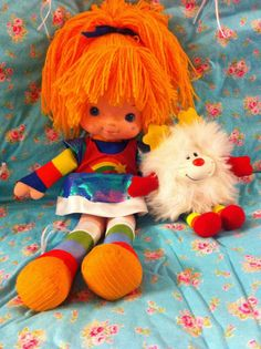 Rainbow Brite and Twinkle Rainbow Brite, 80s Kids, Ol Days, The Good Old Days, Twinkle Twinkle, Vintage Toys, Childhood Memories, Kid Stuff, Nerdy