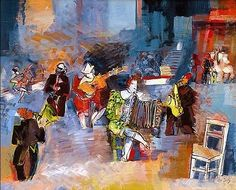 Jean Dufy Fantasie Musicale.