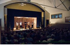 Popular bluegrass group Balsam Range performs at 'An Appalachian Evening', the Summer concert series at the Stecoah Valley Cultural Arts Center. Photo by Charles Snodgrass