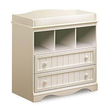 Babies R Us - South Shore Savannah Changing Table - Pure White