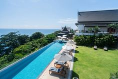 Villa I Phuket's pool side makes you think it's made even better than the beach.