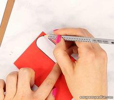 Heart Dog Craft - DIY Valentine's Day Card Idea - Easy Peasy and Fun Valentine Dog, Valentine Crafts For Kids, Valentine Day Cards, Diy Crafts For Kids, Projects For Kids, Arts And Crafts, Fun Cards, Baby Cards, Dog Crafts