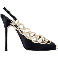 Blahnik haute couture shoe.