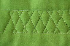Nice machine quilting pattern for sashing sashing