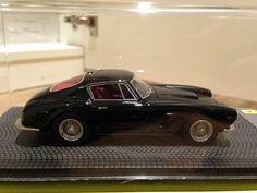 BBR Ferrari 250 SWB 1961 BBR219B Black 1/43 via Handmade Model Cars in 1/43 scale. Click on the image to see more!