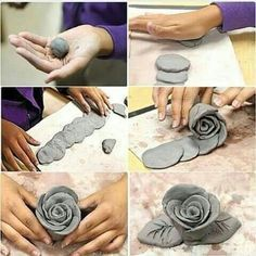 Most current Totally Free cool Ceramics vase Concepts Entdecken Sie Kunst Inspiration, Ideen, Stile – modeliermasse – Ceramic Flowers, Clay Flowers, Art Flowers, Polymer Clay Crafts, Diy Clay, Slab Pottery, Pottery Art, Raku Pottery, Clay Wall Art
