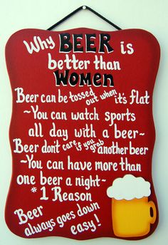 Beer - Bar Sign