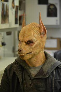 the Anubis from Grimm Egyptian Jackal, Grimm Tv Show, World Mythology, Special Effects Makeup, Fx Makeup, Anubis, Buffy The Vampire Slayer, Werewolf, Deities