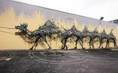 Beautifully Fractured Street Art by Chinese-Born Artist DALeast | DeMilked