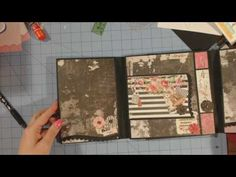 Rossi Belle | Scrapbook Folio| Walk Through - YouTube