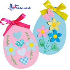 Easter Crafts, Crafts For Kids, Spring Crafts, Kids And Parenting, Decor Crafts, Happy Easter, Jar, Christmas Ornaments, Holiday Decor