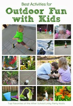 Best Activities for Outdoor Fun with Kids