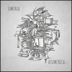 ### Inktober 6 ###  SIMETRIA'SSIMETRICA  Com tanta gente tentando ser simetrica, faz bem achar assimetria em alguém.    #assimetriasimetrica #inktober6 # abstract #abstrato #kennedyboareto