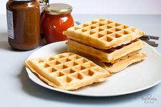 Receta clásica de gofres (waffles)