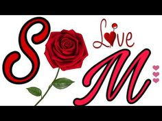 S M Letter Whatsapp Status - YouTube M Letter, Lettering, Youtube, Calligraphy, Letters, Youtubers, Character