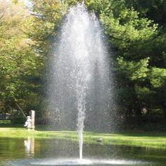 EasyPro Aqua Pond Fountain 1/2HP 115V [AF50]  #easypro #pondfountain Fountain Head, Diy Water Fountain, Water Pond, Sprinkler Pump, Trash Pump, Irrigation Pumps, Diy Pond, Pond Pumps, Pond Fountains